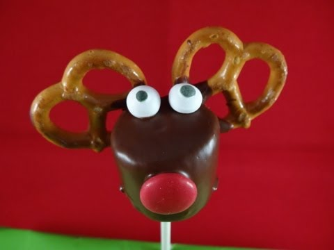 Reindeer Marshmallow Pops