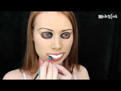 The Purge Makeup Tutorial - YouTube