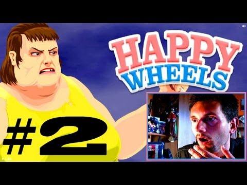 Happy Wheels #2 DLACZEGO MI SIĘ TO PODOBA? (Roj-Playing Games!)