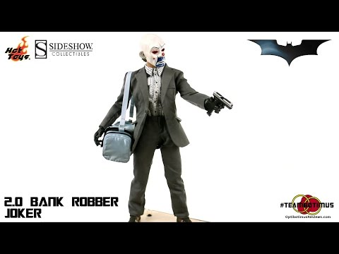 Video Review of the Hot Toys: The Dark Knight The Joker (Bank Robber Version 2.0)