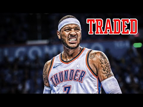 CARMELO ANTHONY TRADED! OKC Thunder Make AMAZING DEAL!   NBA NEWS