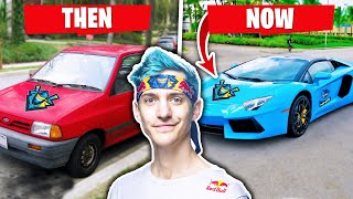 Download Song Fortnite YouTubers Cars Then and Now (Ninja, Tfue & more) Free StafaMp3