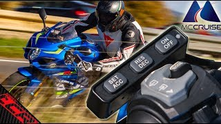 Aftermarket Cruise Control Reviewed   MC Cruise on the GSXR-1000R