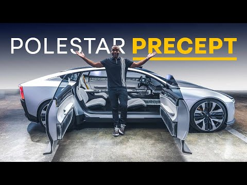 NEW Polestar Precept: The Most BEAUTIFUL Electric Car So Far?   4K