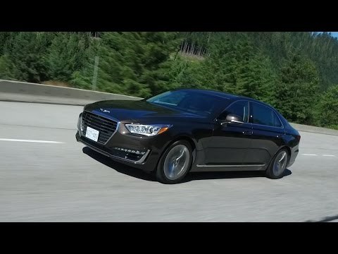 2017 Genesis G90 Test Drive Review - Can it compete with the 7 Series and Mercedes S-Class?