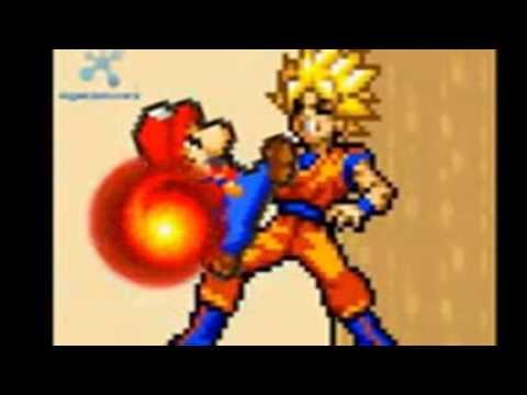 Mario And Luigi Vs Goku And Vegeta The Movie Part 1 video