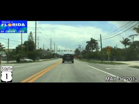Homestead FL to Key West FL US-1 Time Lapse Drive