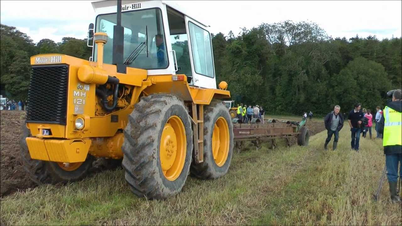 Muir Hill ploughing - YouTube