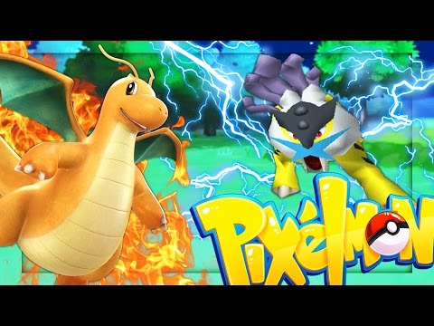 LEGENDARY RAIKOU + DRAGONITE | Minecraft - Pixelmon Mod Battle