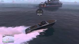 PS4: GTA 5 Online Водная игра