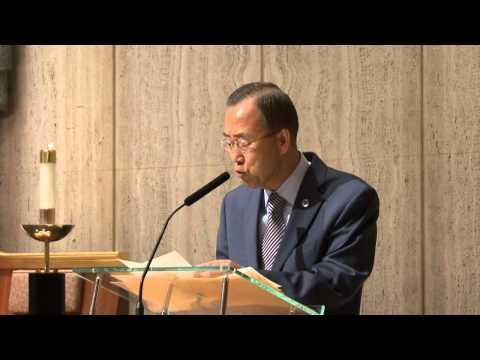 Ban Ki-moon Speech About 9/11