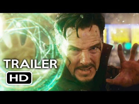 Doctor Strange Official Trailer #2 (2016) Benedict Cumberbatch Marvel Movie HD