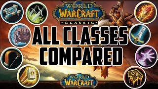 Picking a Class in Classic WoW - All 9 Classes Compared