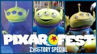 Evolution Of Toy Story Alien In Disney Parks! Pixar Fest Special DIStory Ep. 18! Disney History!