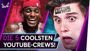 Die 5 COOLSTEN YouTube-Crews! | TOP 5