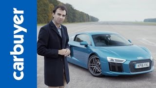 New 2017 Audi R8 coupe in-depth review - Carbuyer - James Batchelor