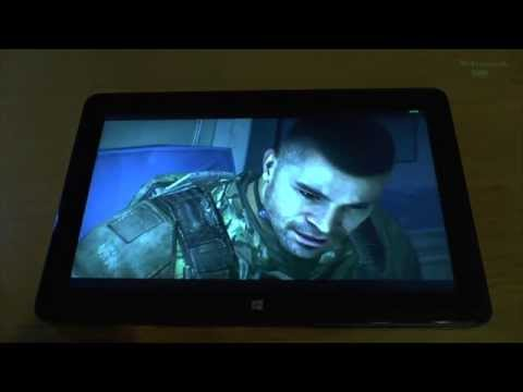 1# Call of Duty Black Ops 2 part.1 test on tablet Intel Core M-5Y71 new Dell Venue 11 Pro 7140