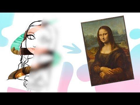 Hago el Mona lisa challenge y este es el resultado