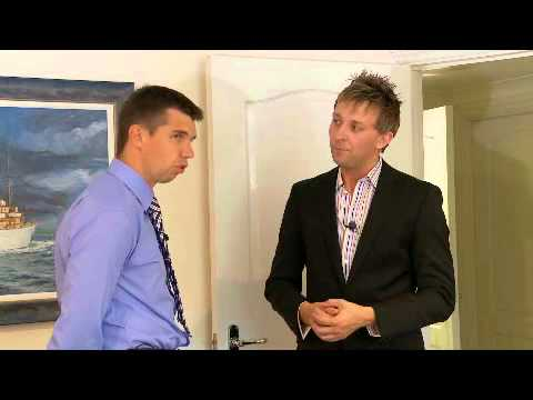 Alan interviews a local estate agent