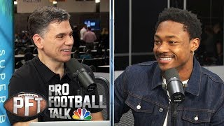 Stefon Diggs scouts 49ers-Chiefs Super Bowl (FULL INTERVIEW) | Pro Football Talk | NBC Sports