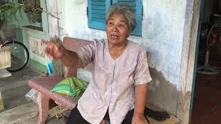Lần thứ hai lại nhà dì 76 tuổi bị biện tim đễ tận gùa tết cho bà