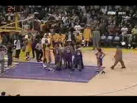 Kwame Brown Punks Boris Diaw Video
