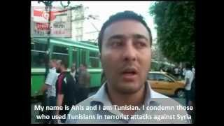 I am Tunisian  I am Syrian  I Am against Terrorism.wmv