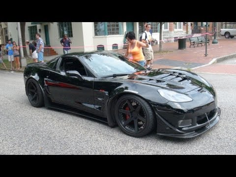 Loud Supercharged 800HP LOMA Zo6 Vette w/t Loud Dodge Viper GTS