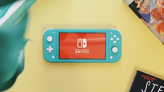 Nintendo Switch Lite Unboxing | Turquoise