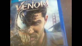 VENOM  Blue Ray /DVD unboxing