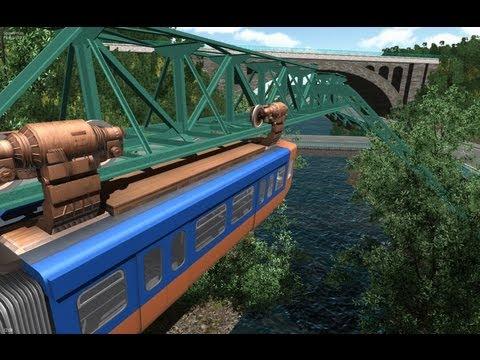 Schwebebahn Simulator 2013 Review/Gameplay