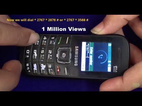How To Unlock Samsung GT-E 1205T. E1200T.E1200Y.E1207T.E1207Y.E1100 All Basic Samsung Models