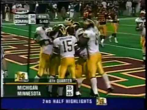 One of the greatest comebacks in Michigan Football history.