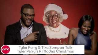Tyler Perry and Tika Sumpter Chat A MADEA CHRISTMAS with AMC