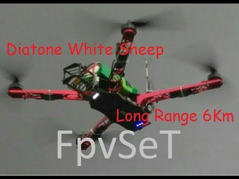 Long Range 6km Diatone Fpv thunderbolt 2w