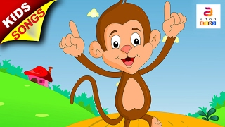 Kindergarten And Preschool Song | The Little Monkey | Kids Songs and Nursery Rhymes  For Children