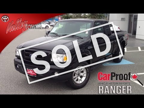 (SOLD) 2011 Ford Ranger Preview, For Sale At Valley Toyota Scion In Chilliwack B.C. # 14602A