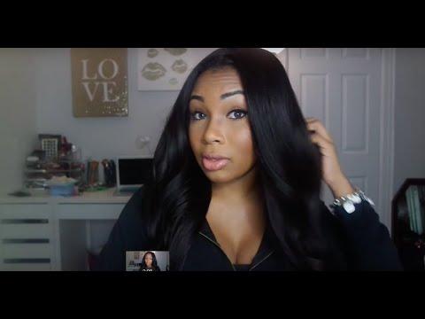 WOWAFRICAN Yaki Brazilian Silk Top Lace Wig Review
