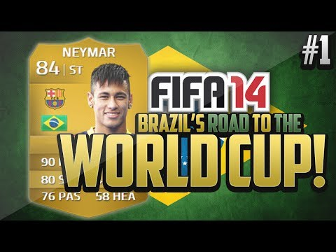 FIFA 14 NEXT GEN | Brazil's Road to The World Cup - Episode 1