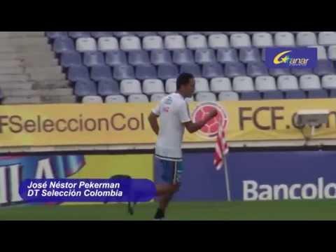 RUEDA DE PRENSA JOSE NESTOR PEKERMAN PARTIDO COLOMBIA ARGENTINA