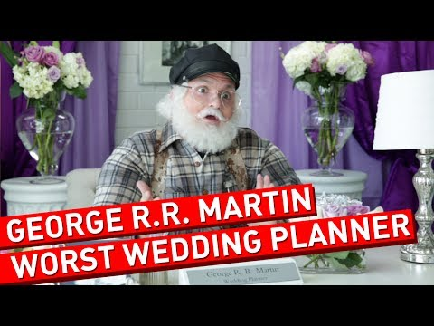 George R.R. Martin Wedding Planning