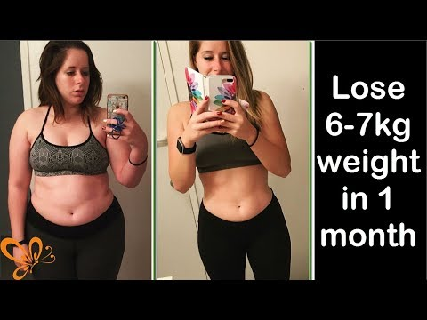 LOSE WEIGHT FAST AT HOME   Lose 6-7KG In 1 Month   World Best Method To Lose Weight
