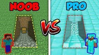 Minecraft NOOB vs. PRO: SECRET STAIRS in Minecraft!