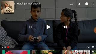 Reaction to perfect match by anwar jibawi