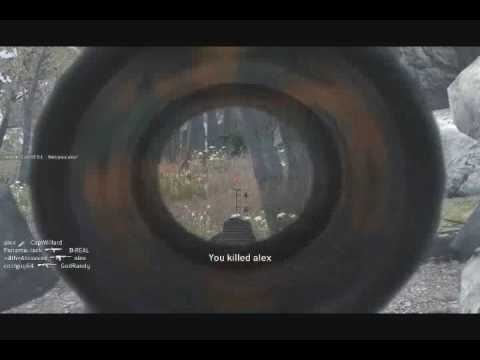 COD4 ONLINE KILLING FEST!! PWNING 81 BAD GUYS!! Video
