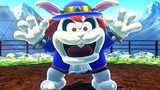 Super Mario Odyssey Walkthrough Part 3 - Road to Sky Garden (Wooded Kingdom)