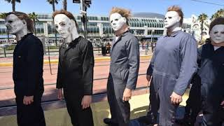 Michael Myers & Me at SDCC! Comic Con 2018 Predictions! Hereditary, Ant Man &Other Top 2018 Films!