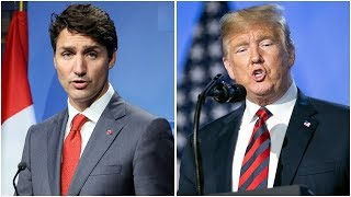 Trudeau deals with Trump at NATO summit