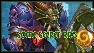Hearthstone: Some secret RNG (dragon priest)