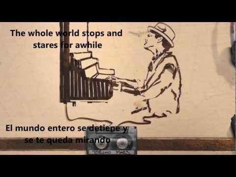 BRUNO MARS - JUST THE WAY YOU ARE  SUBTITULADO (INGLESESPAÑ...